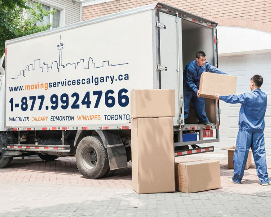 Banff movers, Banff moving services
